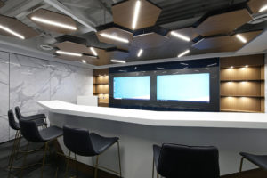 Bespoke Ceiling at DIRTT HQ
