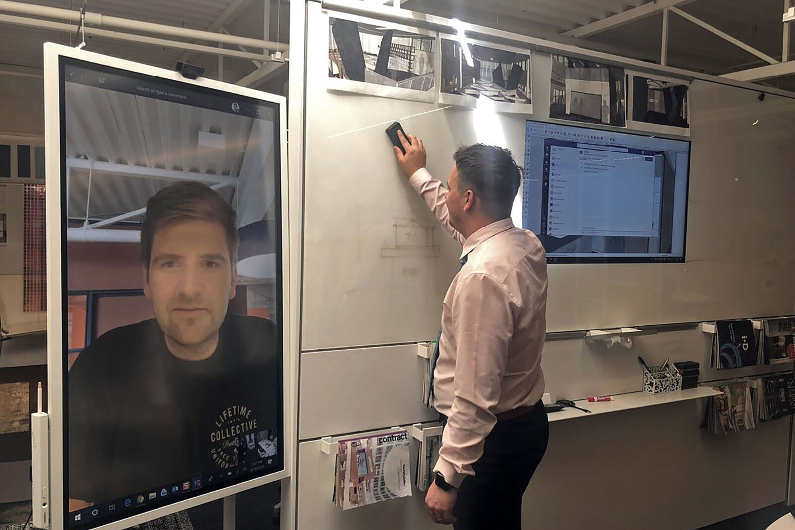 Human-Scale Video Conference
